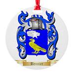 Bennier Round Ornament