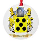 Bennick Round Ornament