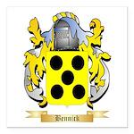 Bennick Square Car Magnet 3