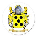 Bennick Round Car Magnet