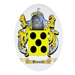 Bennick Ornament (Oval)