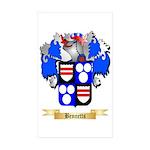Bennetts Sticker (Rectangle 50 pk)