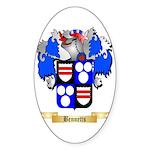 Bennetts Sticker (Oval)
