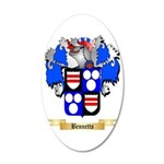 Bennetts 35x21 Oval Wall Decal