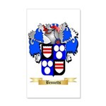 Bennetts 35x21 Wall Decal