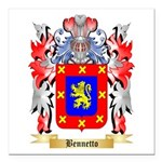 Bennetto Square Car Magnet 3