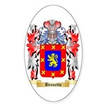 Bennetto Sticker (Oval 50 pk)