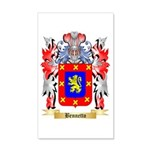 Bennetto 20x12 Wall Decal