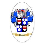Bennett Sticker (Oval 50 pk)
