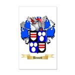 Bennett 20x12 Wall Decal