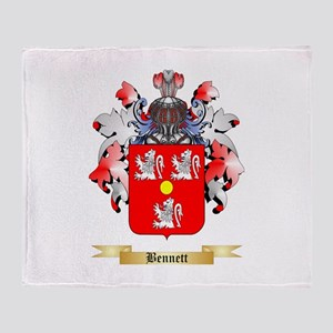 Bennett English Throw Blanket
