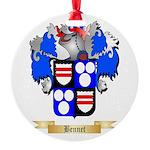 Bennet Round Ornament
