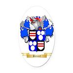 Bennet Oval Car Magnet