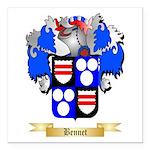 Bennet Square Car Magnet 3