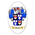 Bennet Sticker (Oval 50 pk)