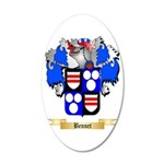 Bennet 20x12 Oval Wall Decal