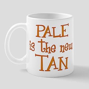 """Pale is the new tan"" Mug"