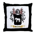 Benjaminy Throw Pillow