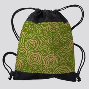 Circles Drawstring Bag