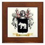 Benjamins Framed Tile