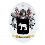 Benjamins Ornament (Oval)