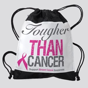 Breast Cancer Awareness - Tougher T Drawstring Bag