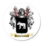 Benjaminowitsch Round Car Magnet