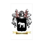 Benjaminowitsch Sticker (Rectangle 50 pk)