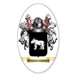 Benjaminowitsch Sticker (Oval 50 pk)