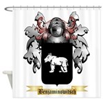 Benjaminowitsch Shower Curtain