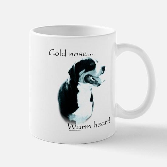 Swissy Warm Heart Mug