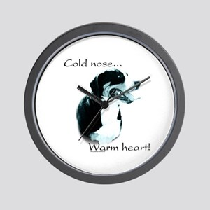 Swissy Warm Heart Wall Clock
