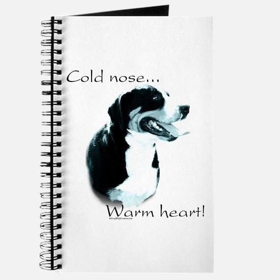 Swissy Warm Heart Journal