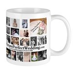 Picture Perfect Wedding Collage Mug