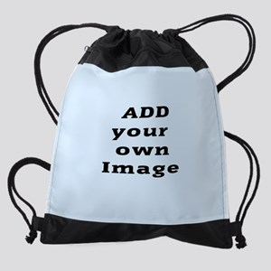 Add Image Drawstring Bag