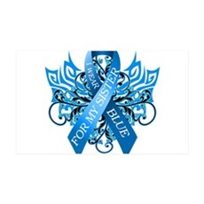 I Wear Blue for my Sister Wall Decal