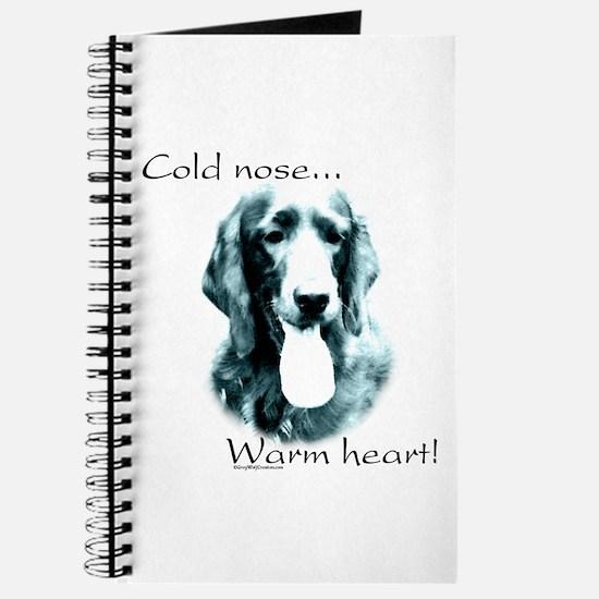 Irish Setter Warm Heart Journal