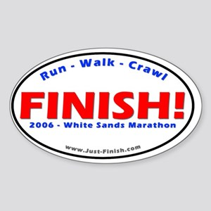 2006-White Sands Marathon Sticker