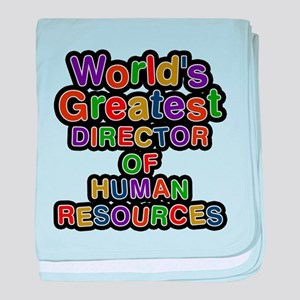 Worlds Greatest DIRECTOR OF HUMAN RESOURCES baby b