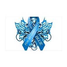I Wear Blue for my Grandson Wall Decal