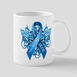 I Wear Blue for my Grandson Mug