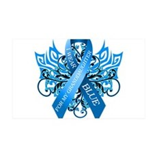 I Wear Blue for my Granddaughter Wall Decal