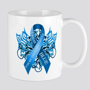 I Wear Blue for my Granddaughter Mug