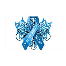 I Wear Blue for my Friend Wall Decal