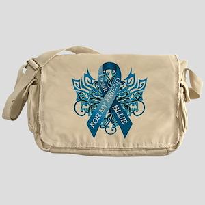 I Wear Blue for my Friend Messenger Bag