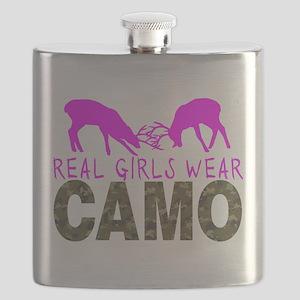 GIRL DEER HUNTER Flask