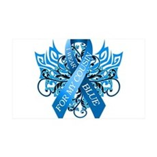 I Wear Blue for my Cousin Wall Decal