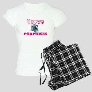 I Love Porpoises Pajamas