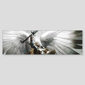 Angel Knight Bumper Sticker
