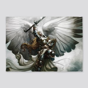 Angel Knight 5'x7'Area Rug